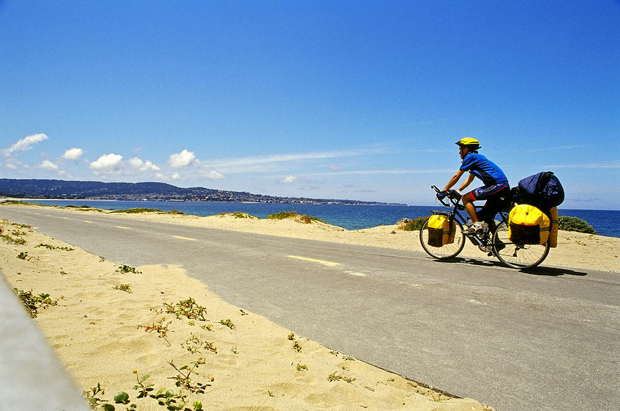 Cycling towards Monterey (Day 2)