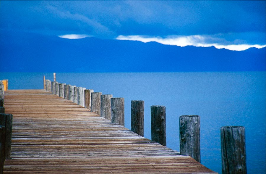 Lake Tahoe pier (Day 23)