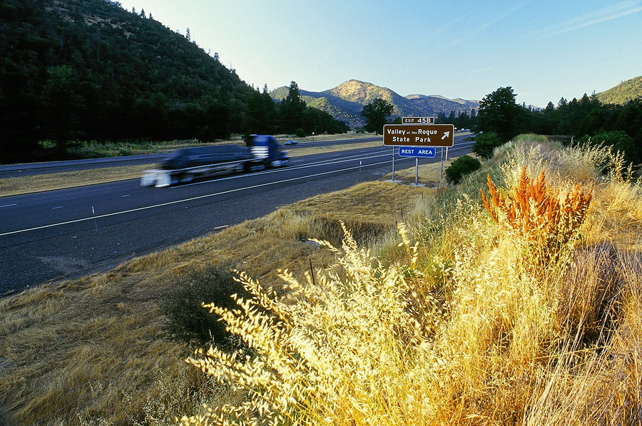 Camping along the Interstate 5, Oregon (Day 46)
