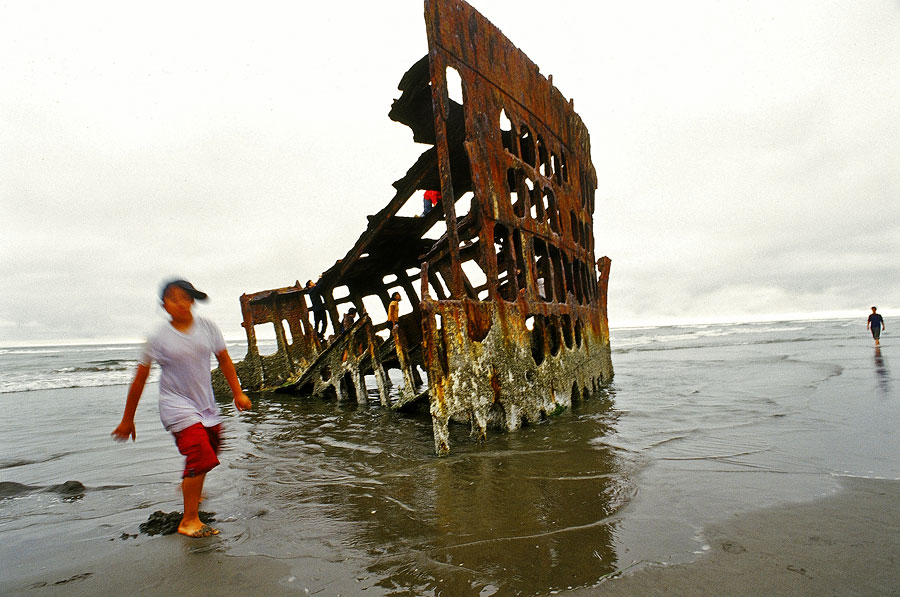 Wreck of the Peter Iredale, Fort Stevens State Historical Site (Day 58)