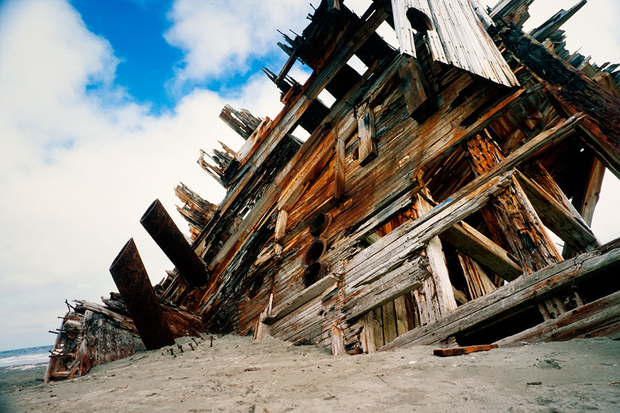 Pesuta shipwreck, Naikoon Park, Queen Charlotte Islands (Day 92)