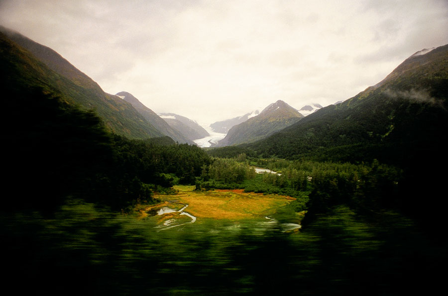 Train from Seward to Anchorage (Day 109)
