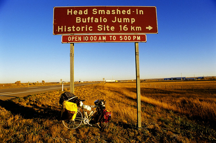 Stef, Head Smashed In Buffalo Jump (Day 143)
