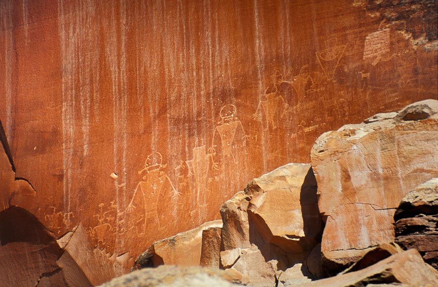 Indian petroglyphs, Capitol Reef National Park (Day 162)