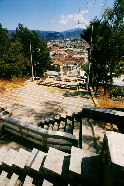Looking down from San Cristobal church (Day 197)