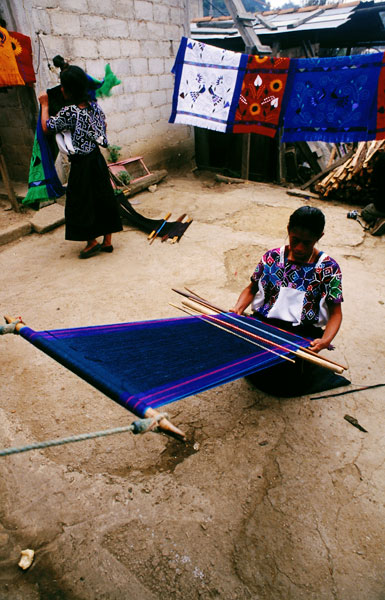Weaving in Chamula (Day 198)