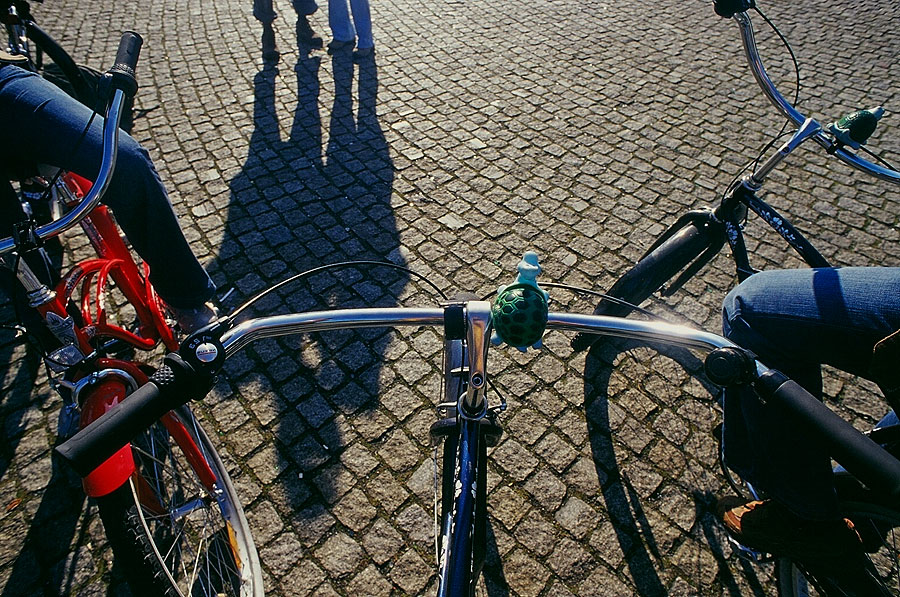 Touring Berlin on cruiser bicycles