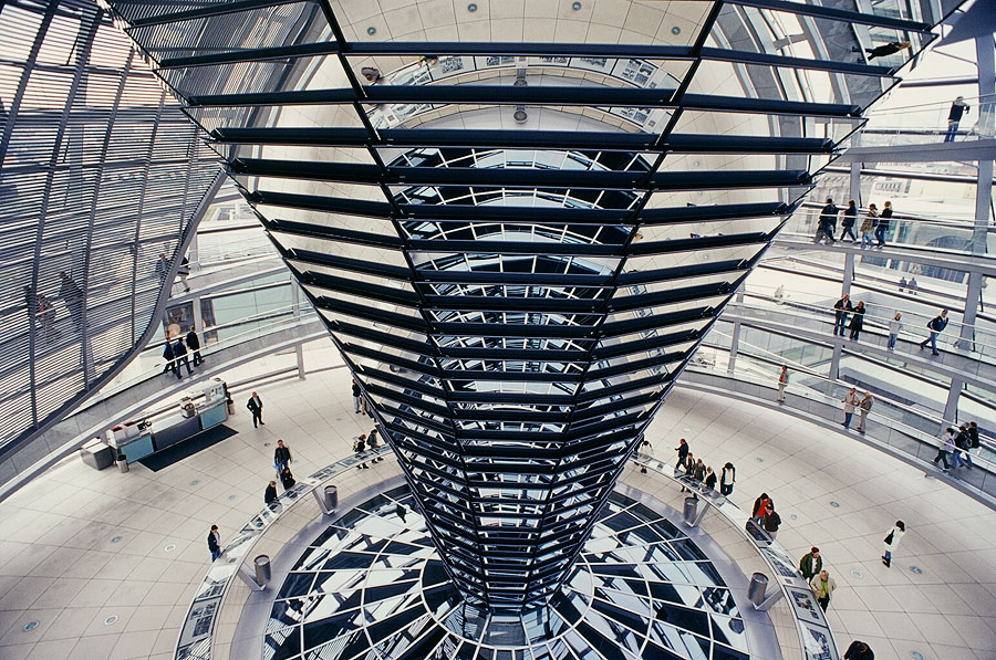 Berlin Reichstag dome building
