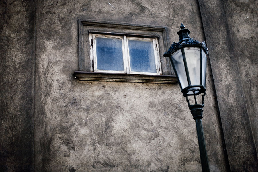 Window and street light