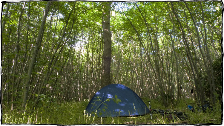 Bicycle Touring East Sussex – Wild Camping