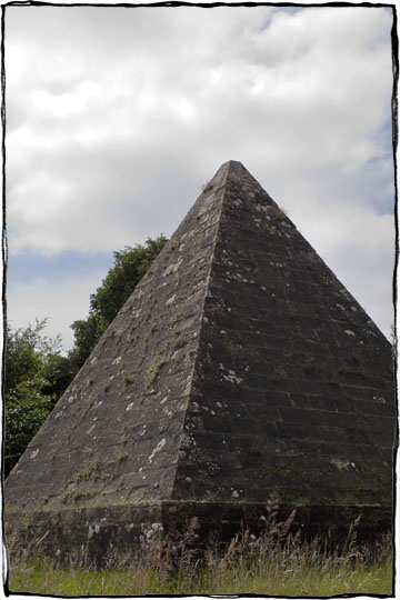 Bicycle Touring East Sussex - Brightling Pyramid