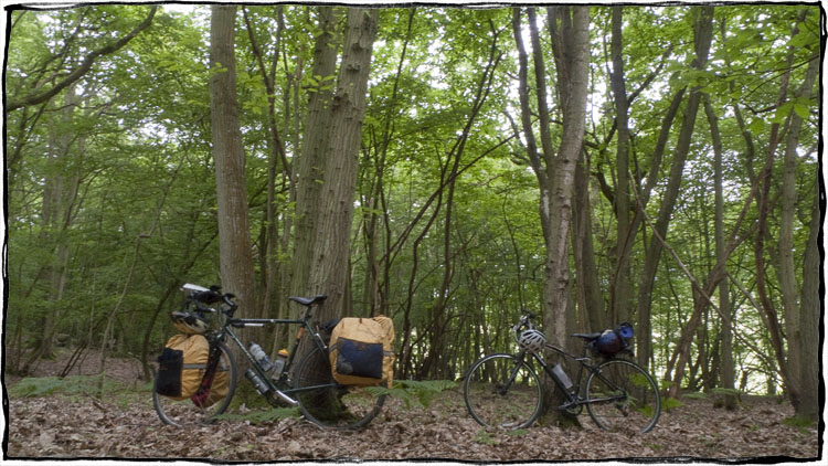 Bicycle Touring East Sussex - Loaded Bikes