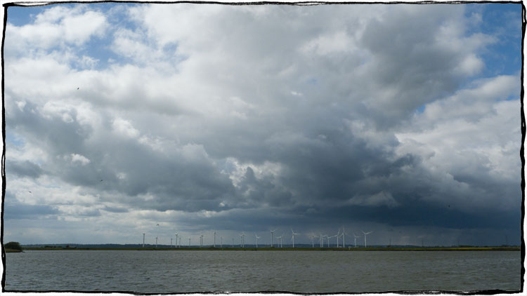 Bicycle Touring East Sussex - Wind power