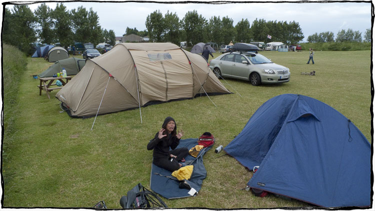 Bicycle Touring East Sussex - Camp Ground Madness