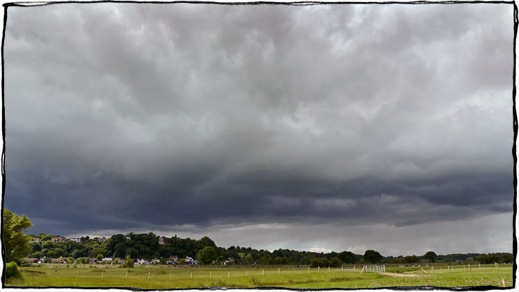 Bicycle Touring East Sussex - Rye Storm Clouds
