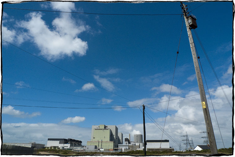 Bicycle Touring East Sussex- Dungeness Nuclear Power Station