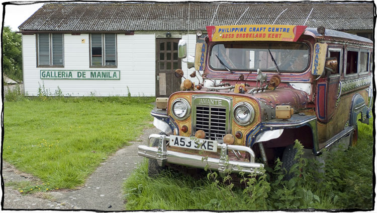 Bicycle Touring East Sussex - Manila Jeepney