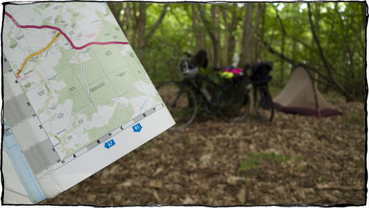 Bicycle Touring East Sussex - Wild Camping