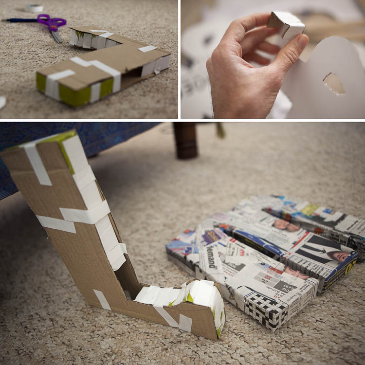 Putting together the DIY Home-made 3D typography letters
