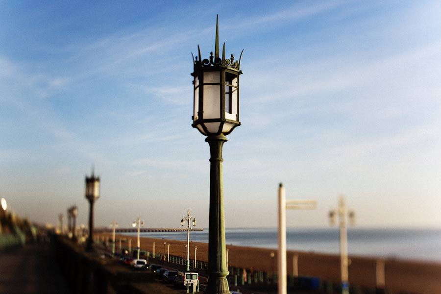 Brighton seafront, UK