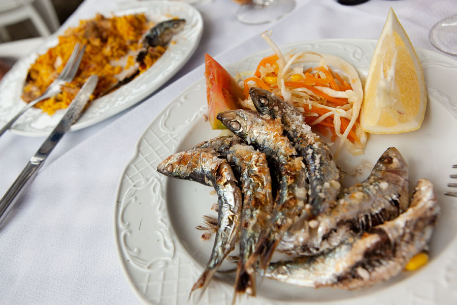 Lunch, Andalucia