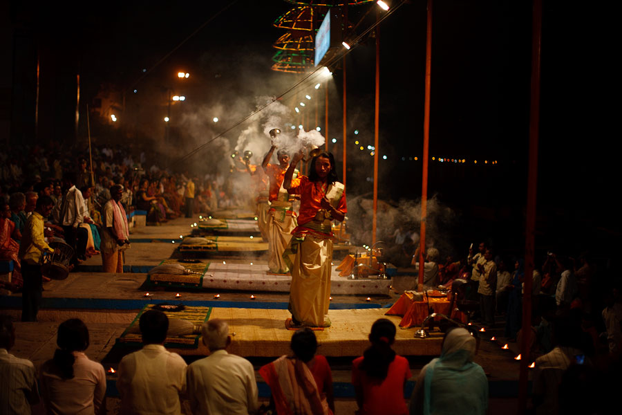 Varanassi rituals on the banks of the Ganges