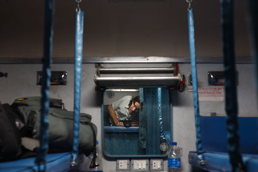 On train to Jaipur, last photo I downloaded before my camera was stolen