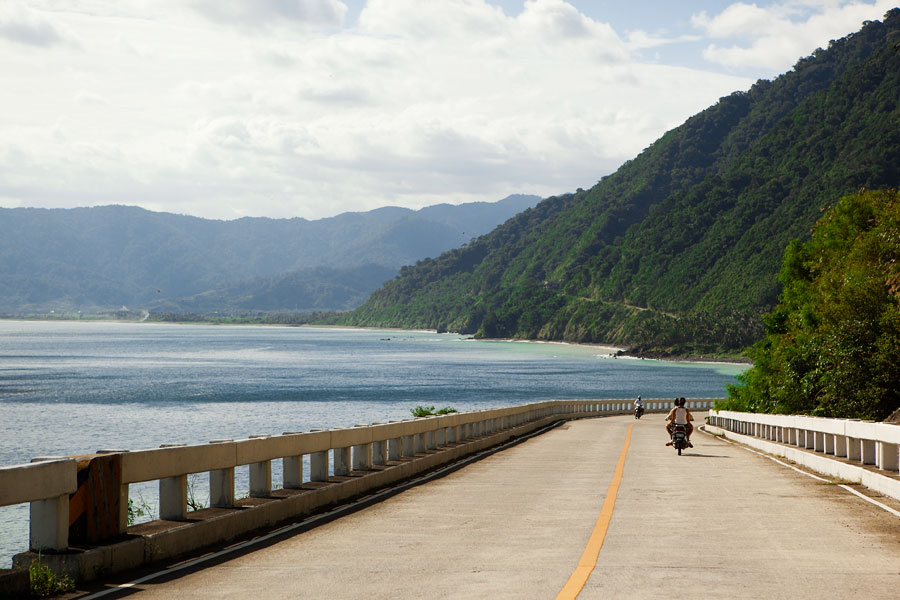 On the way to Adams along the stunning Pan-Philippine coastal highway