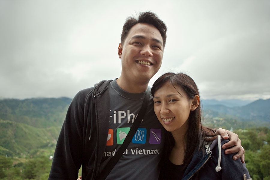 Ren and Anmi, Baguio