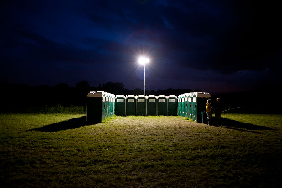 Andy's Loos at the No Direction Home Festival