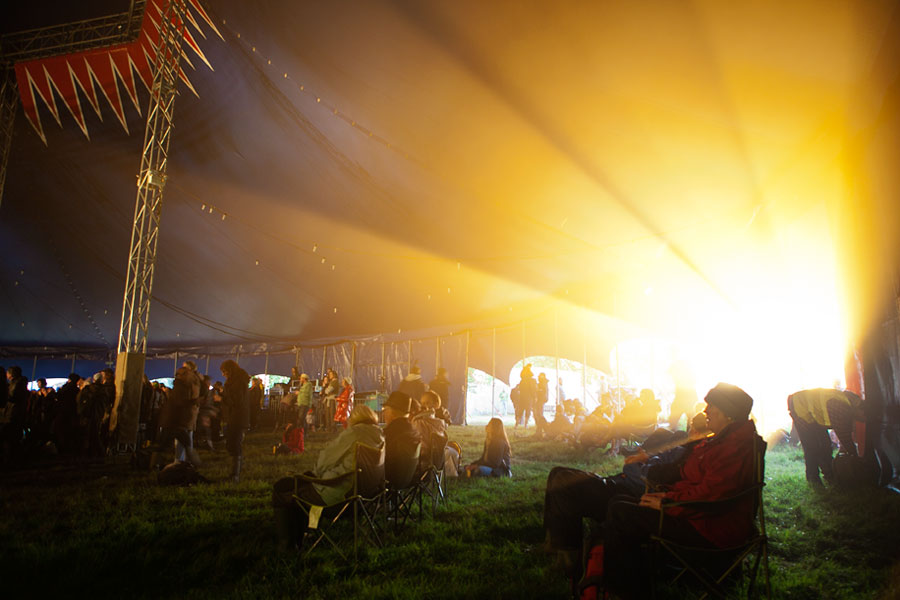 Sun gets in at the Electric Dustbowl at the No Direction Home Festival