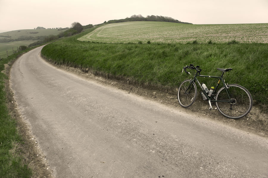 Cycling in Sussex - North of Telscombe