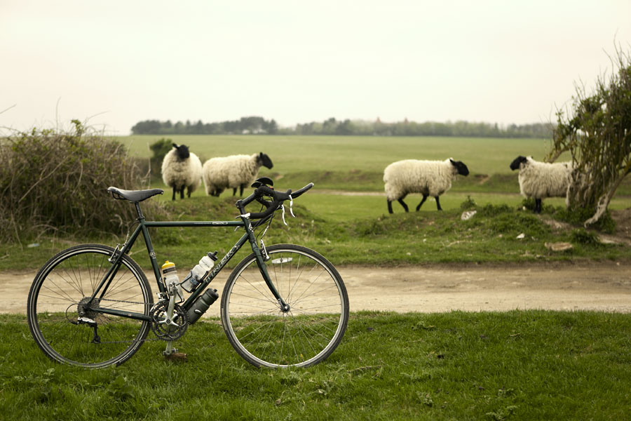 North of Peacehaven, Cycling in Sussex - Bike Porn