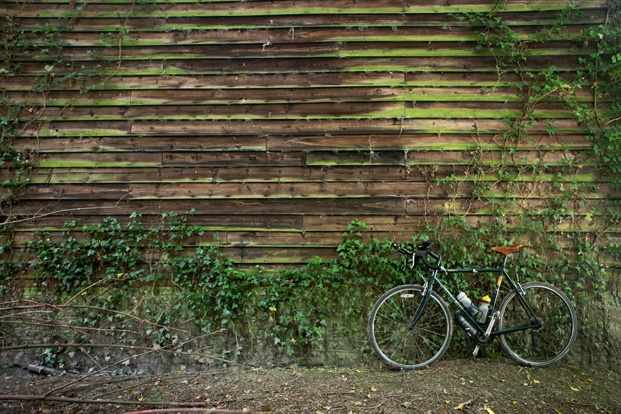 Bottom of Wolstonbury Hill, Cycling in Sussex - Bike Porn