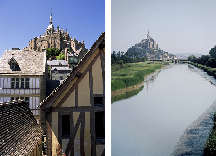 Views of Le Mont St. Michel from Beauvoir [Day 12]