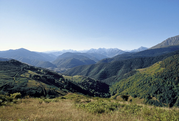 A bicycle touring journey of cycling through the French Pyrenees mountains
