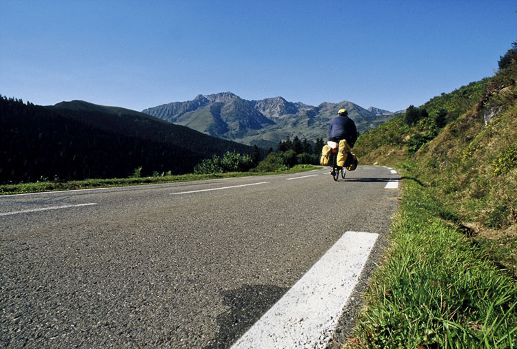 Cycling the Pyrenees by bicycle