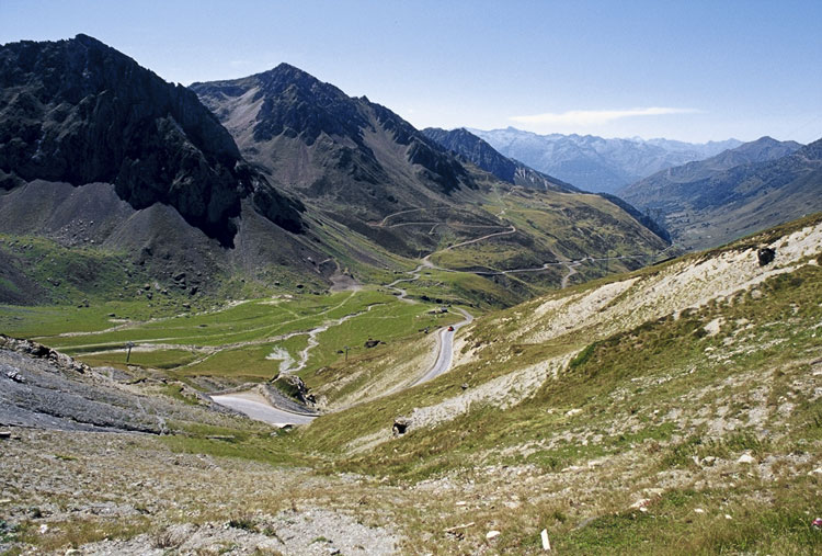 Riding the Pyrenees by touring bicycle