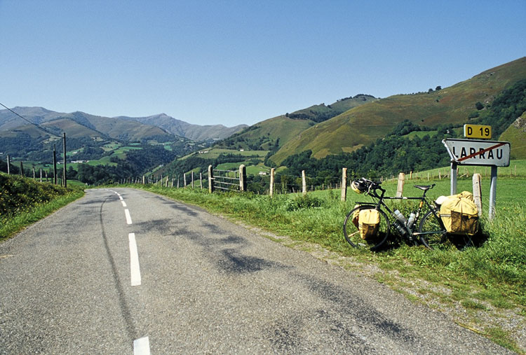 A bicycle journey through the Pyrenees