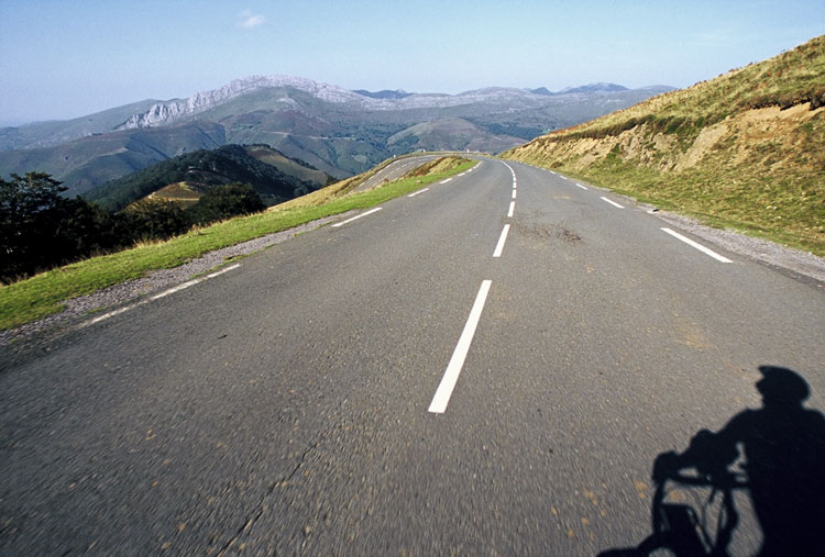 Bicycle touring journal of bicycle tour in the Pyrenees