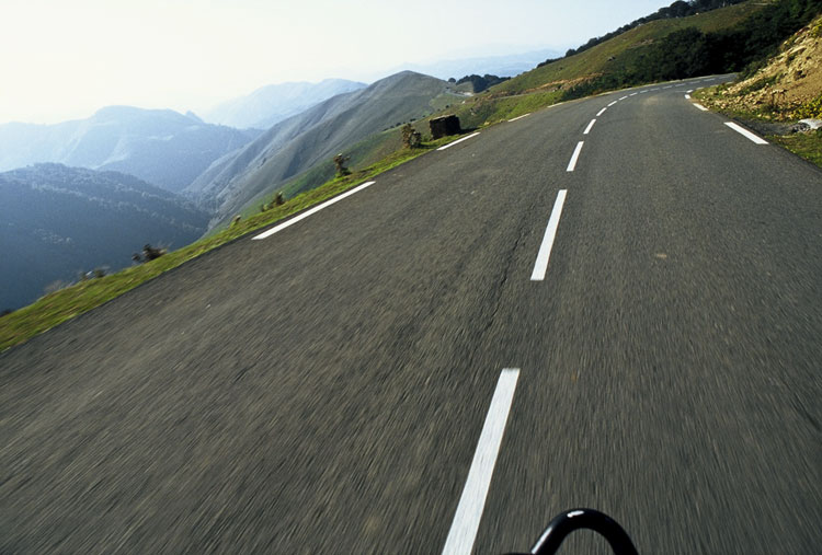 Bicycle touring in the French Pyrenees