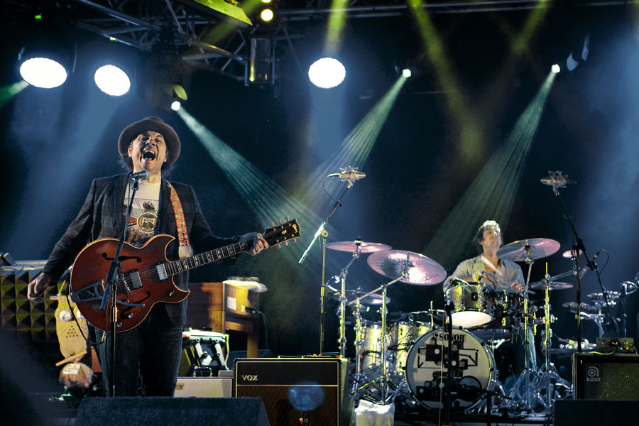 Jeff Tweedy and Wilco at Wilderness Festival 2012