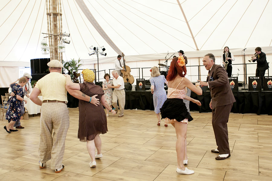 Swing Dancing at Wilderness Festival