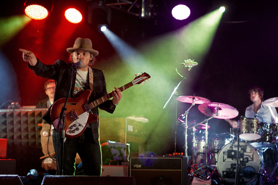 Wilco playing live at Wilderness Festival 2012